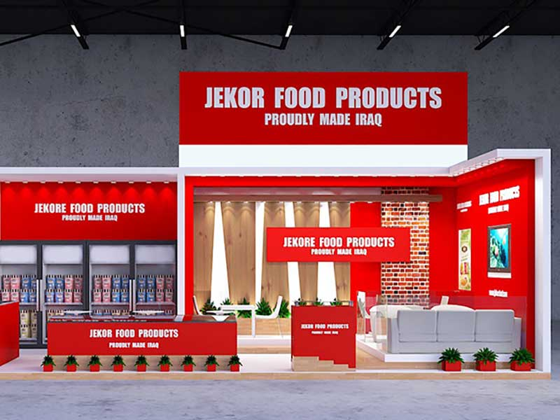 Customized Booth Design